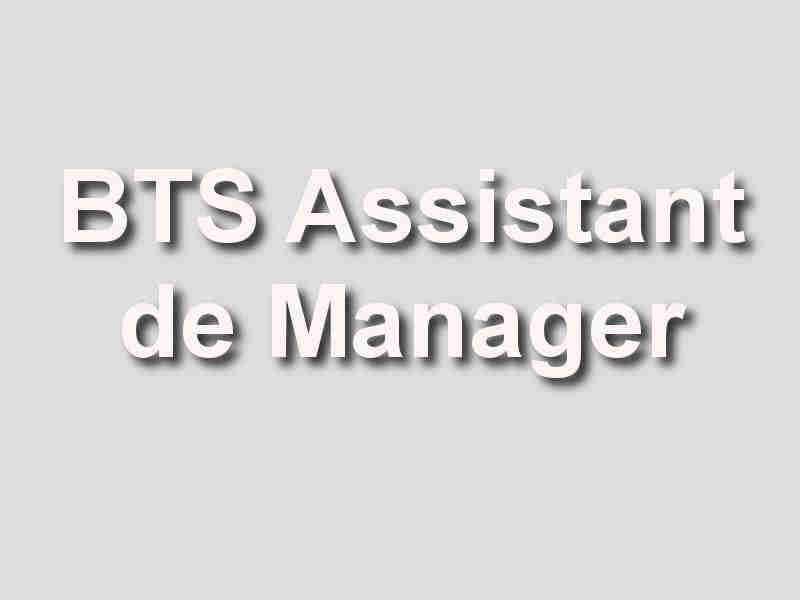 bts assistant de manager am 67 bas
